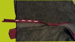 einfassband schägband annähen anleitung
