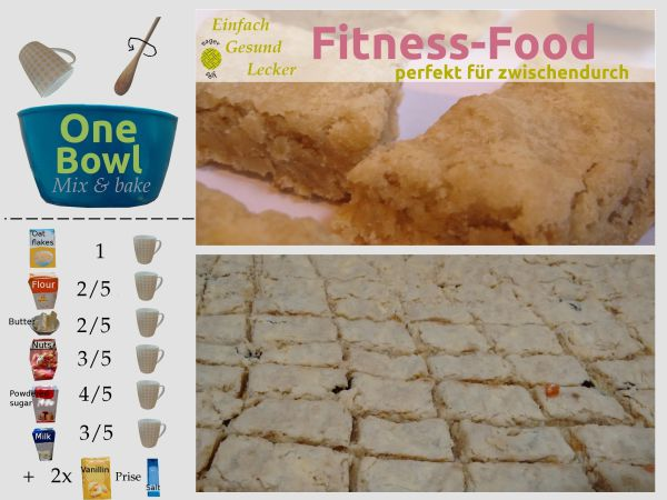 Fitness-Food Tassenrezept