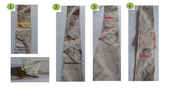 Träger kürzen Einfach in 4 Schritten