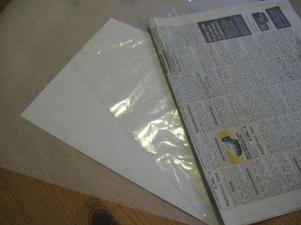 Kap. 4.3 | Welches Material eignet sich zum Schnittmuster erstellen ...