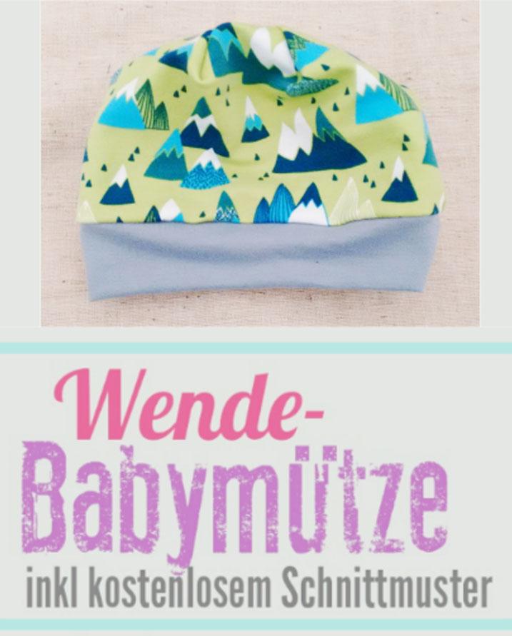 Babymütze - Kostenloses Schnittmuster • eager self
