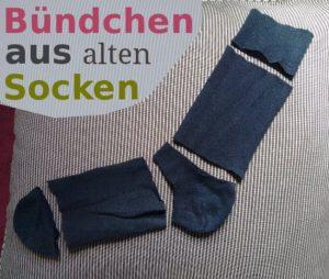 Bündchen aus alten Socken thumb