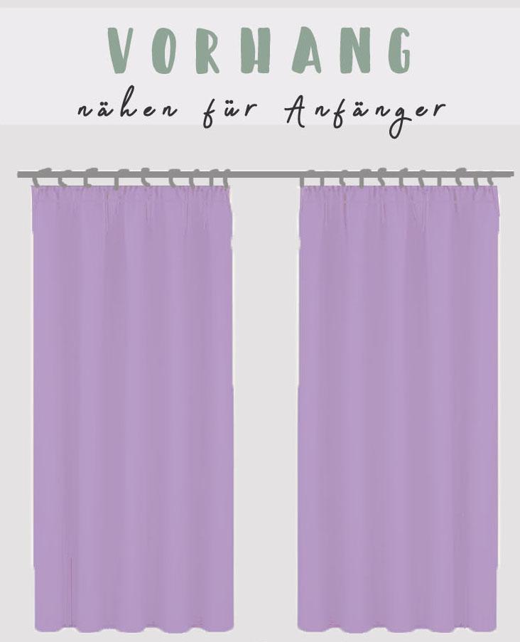Vorhang nähen für Anfänger • eager self