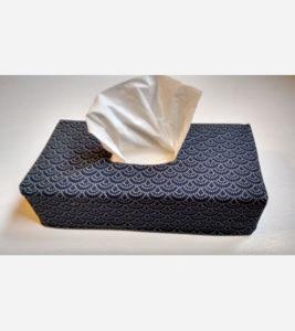Taschentuchbox Stoffbezug Anleitung Nähkurs online