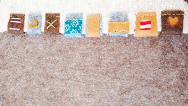 n hen lernen mit filz n hprojekte f r anf nger eager self. Black Bedroom Furniture Sets. Home Design Ideas