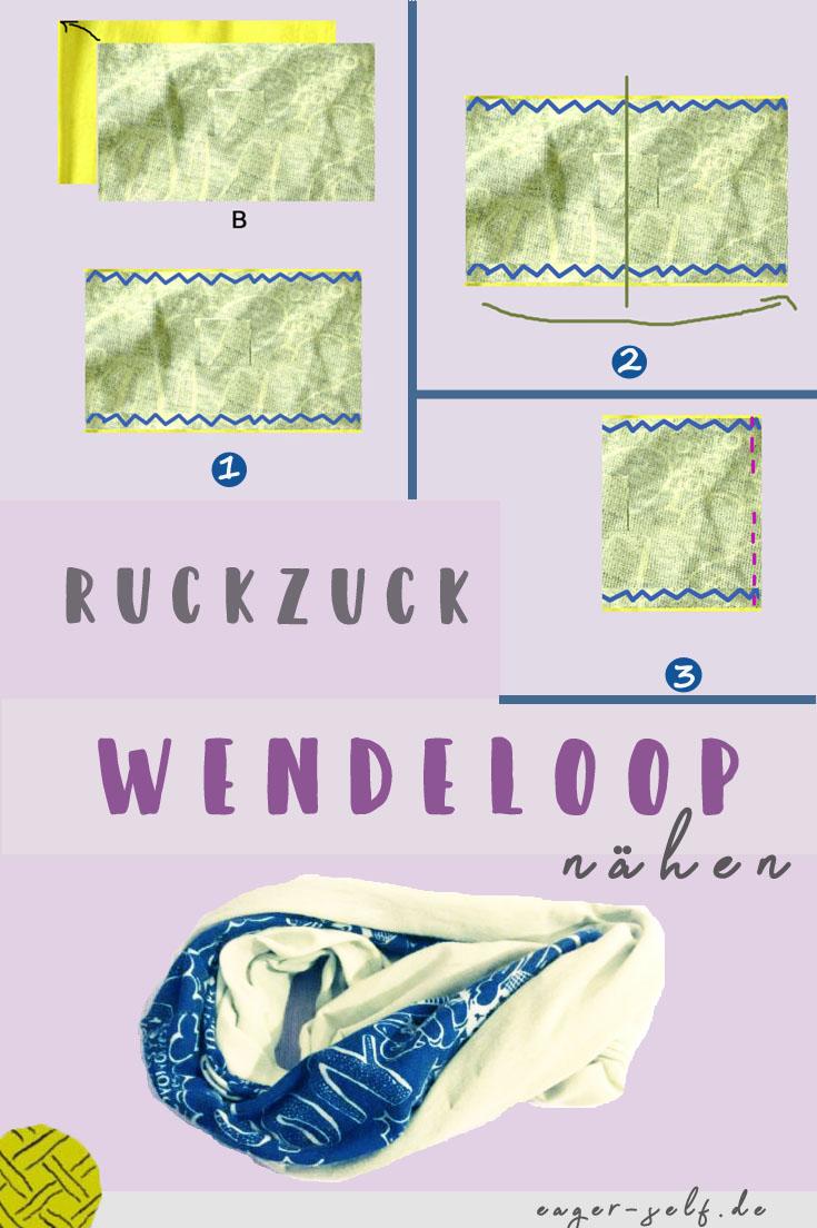 Multifunktionstuch nähen - Anleitung - Wendeloop • eager self