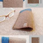 Einfaches Brillenetui selber machen - So geht's