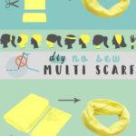 Multifunktionstuch ohne Nähen