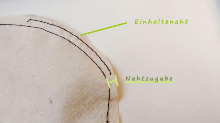 Einhalten bei der Schultermehrweite