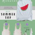 Mädchen Sommershirt nähen - Kostenloses Schnittmuster und Anleitung