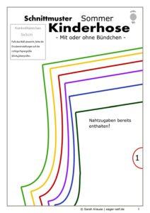 Kostenlos schnittmuster pdf kinder Kostenloses Schnittmuster: