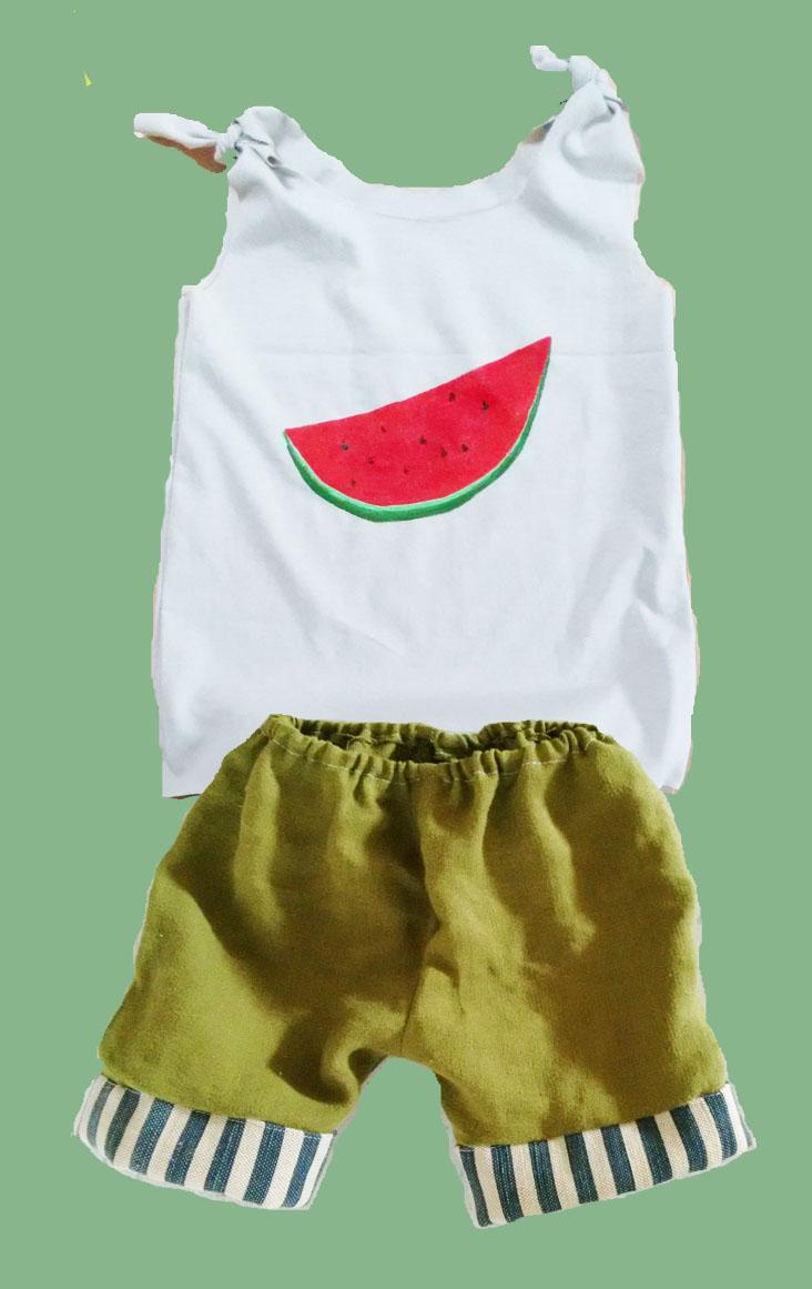Top und Hose Kinderkleidung nähen