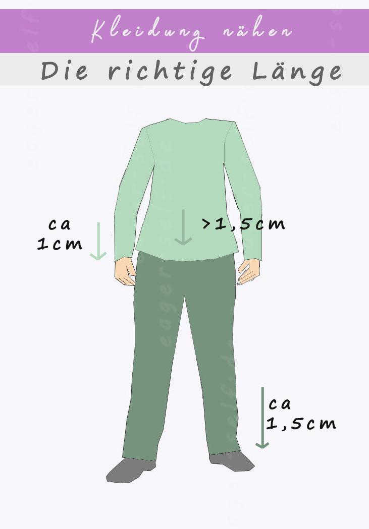 Die richtige Länge - Kleidung nähen