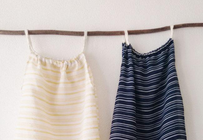 Einfaches Sommerkleid nähen mit eigenem Schnittmuster