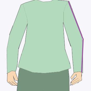 Armlänge messen - nähen