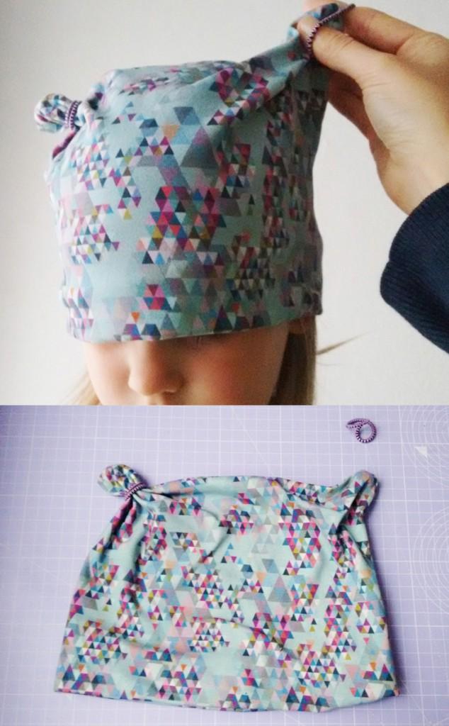 Knotenmütze - Die 10 Minuten Babymütze mit dem einfachen Schnittmuster