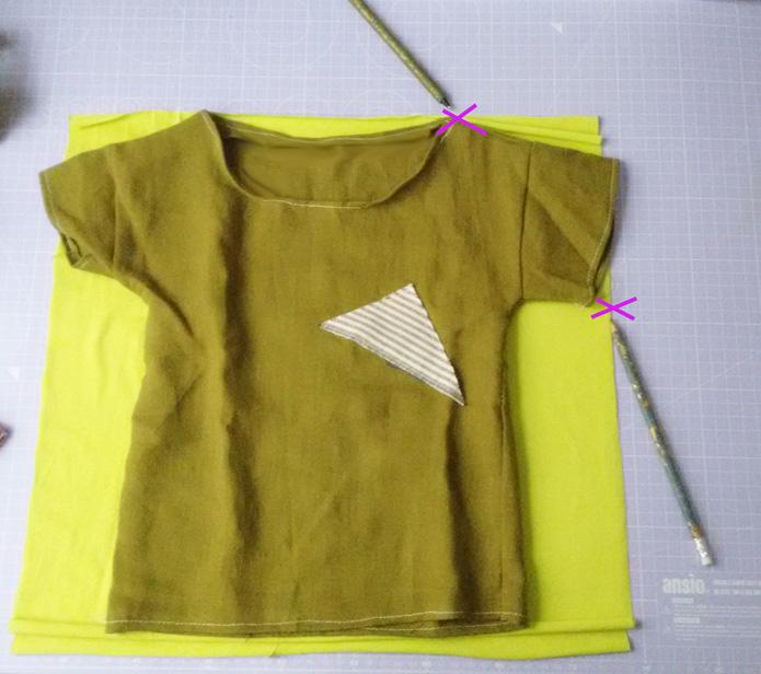 Shirt nähen für Kinder - Scnittmuster erstellen