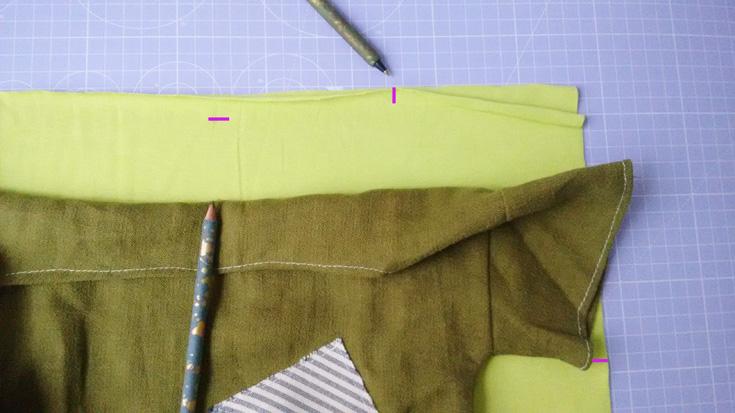 Shirt nähen- Halsausschnitt erstellen