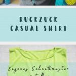 Ruckzuck Shirt nähen - Schnittmuster selbst erstellen
