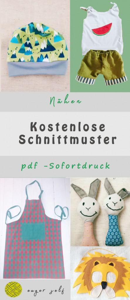 Kostenlose Schnittmuster pdf download